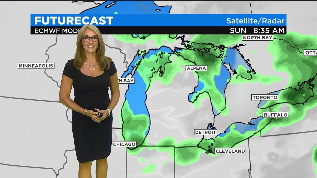 First Forecast Weather August 1, 2021 (today)
