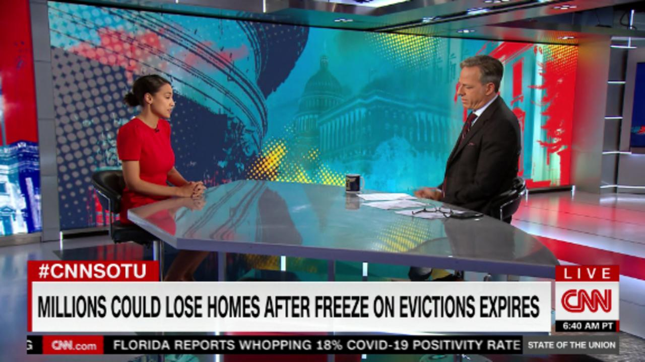 Ocasio-Cortez: House needs to come back and extend eviction freeze