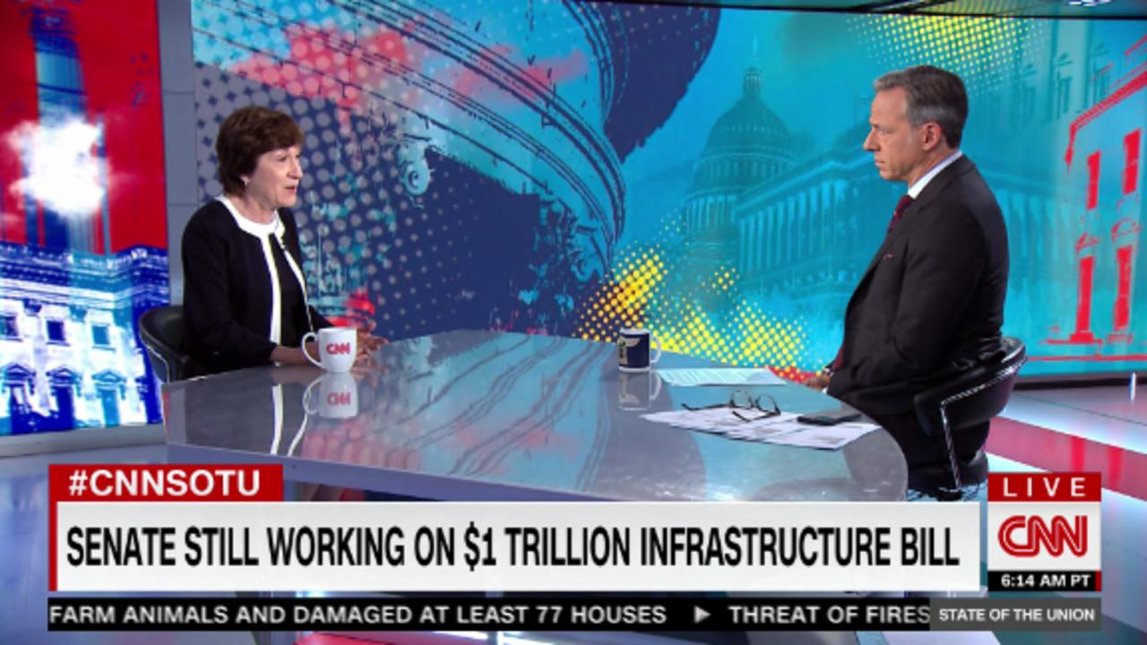 Sen. Susan Collins: I expect infrastructure deal will pass this week