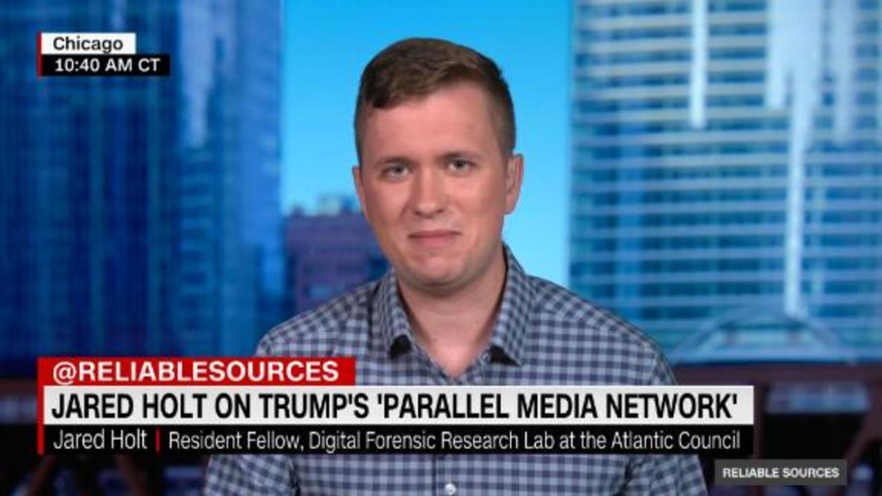 Jared Holt on Trump's 'parallel media universe'