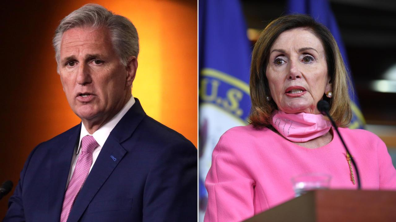 Pelosi's spokesperson swiftly responds to McCarthy's joke