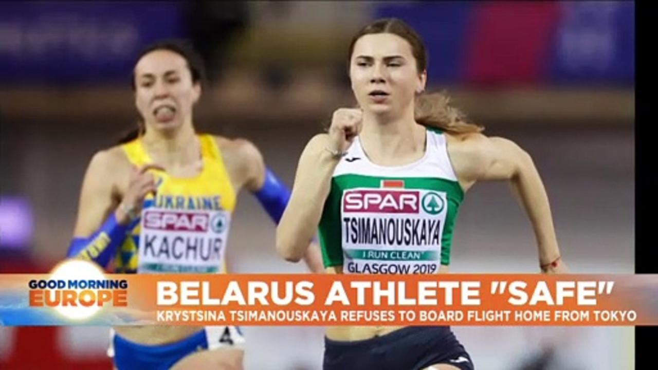Belarus sprinter claims officials tried to forcibly remove her from Tokyo