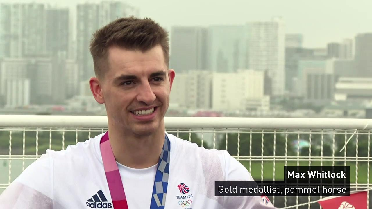 Max Whitlock: 'It feels surreal to win sixth Olympic medal'