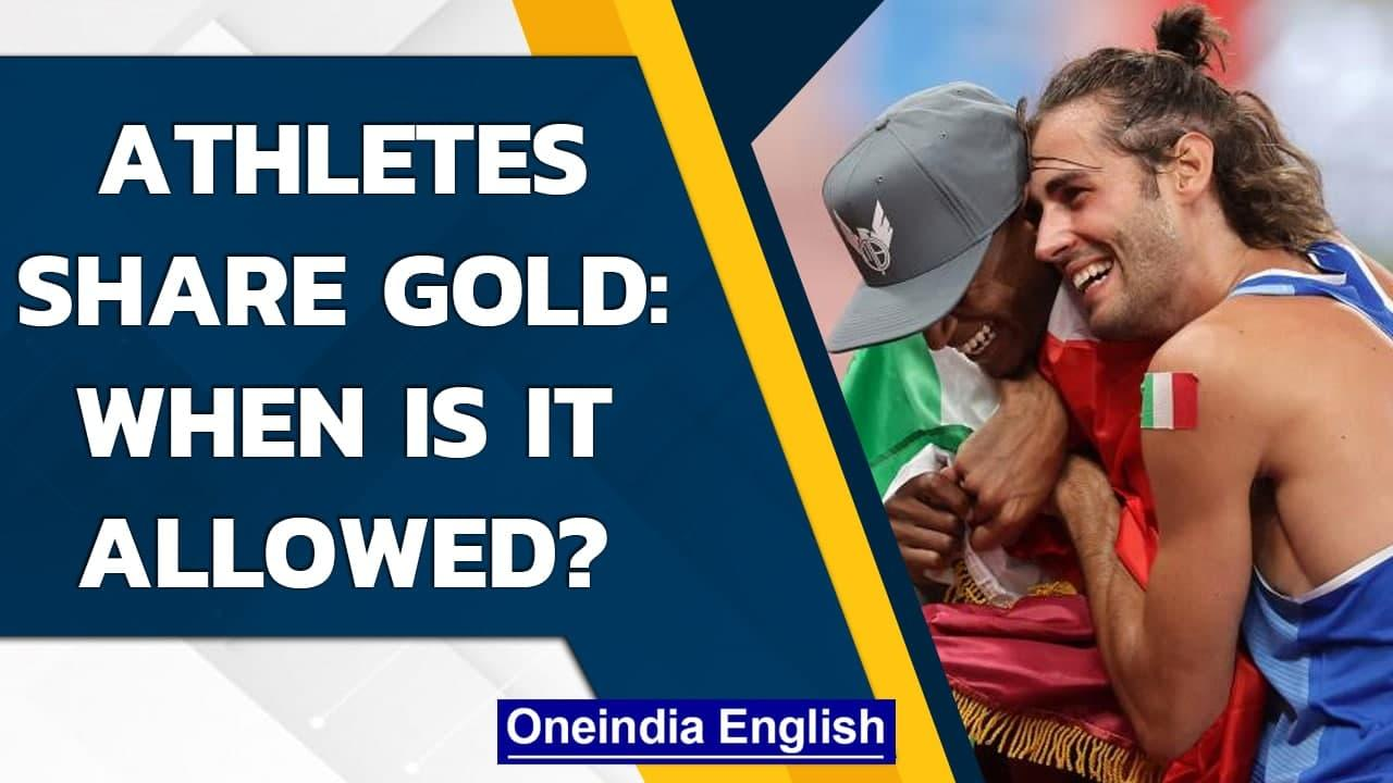 Olympic athletes share gold medal: When and how is it possible? | Oneindia News