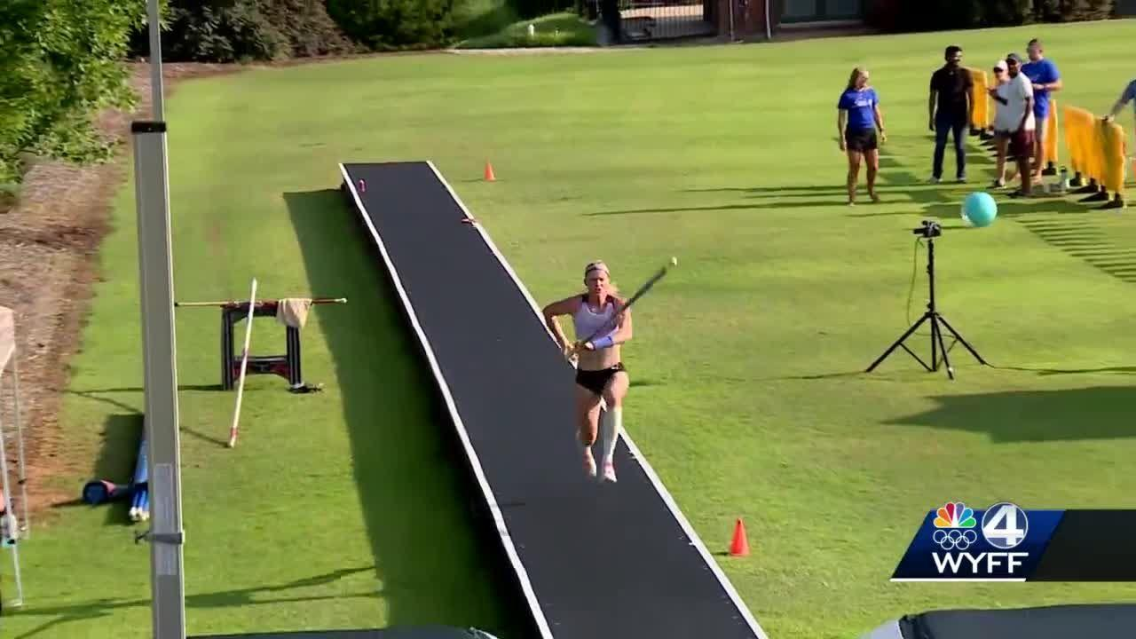 Upstate native gets hometown send-off ahead of Tokyo Olympics