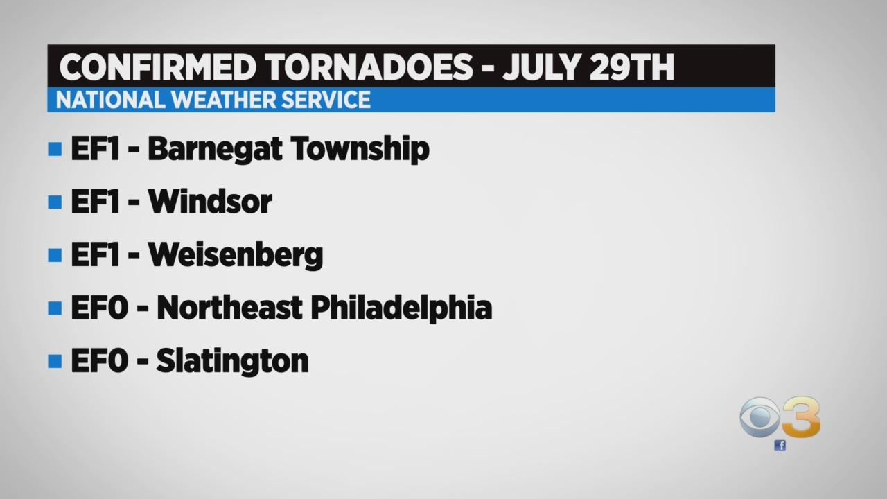 NWS Now Says 9 Tornadoes Touched Down During Thursday's Storm