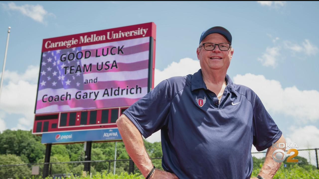CMU Track & Field Coach Gary Aldrich Coaching Team USA