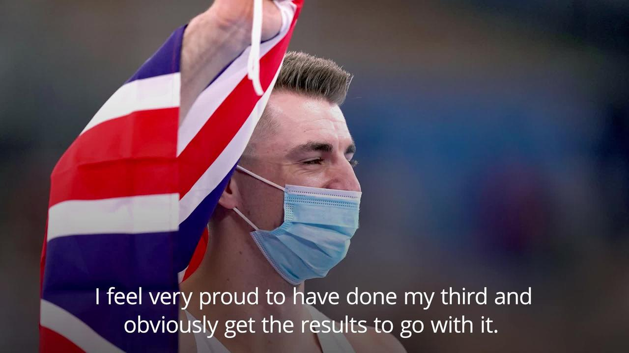 Max Whitlock on 'surreal moment' after pommel horse gold