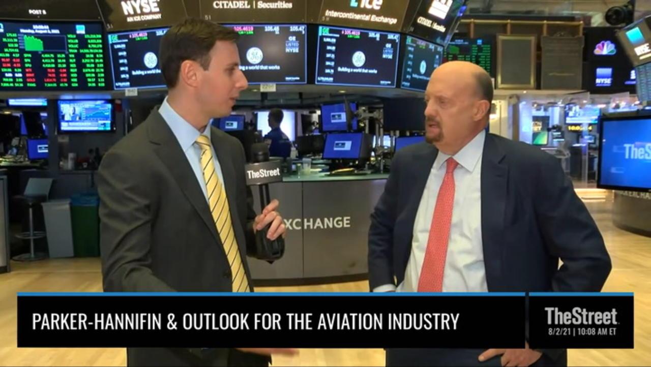 Jim Cramer: What Parker-Hannifin Deal Says About Aerospace Rebound