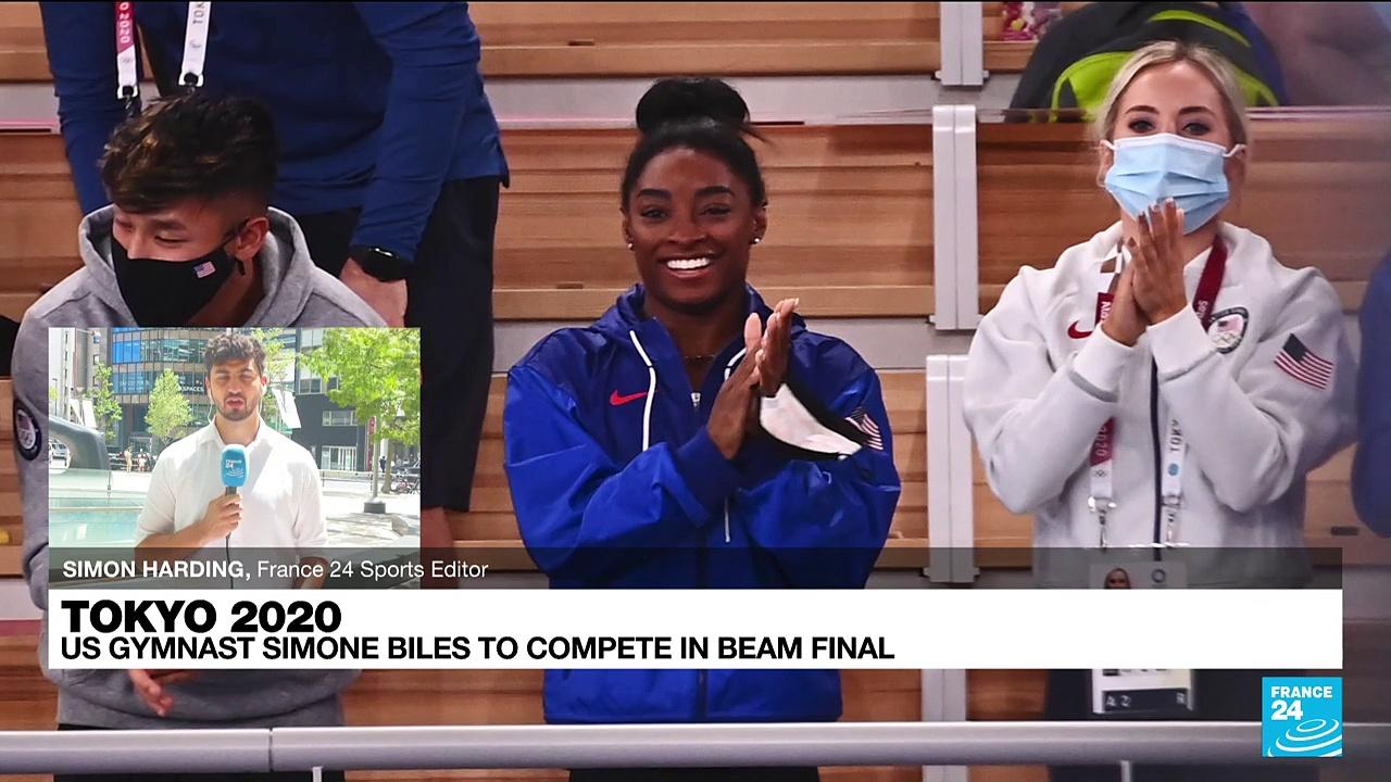 Tokyo Games: US gymnast Simone Biles to compete in beam final