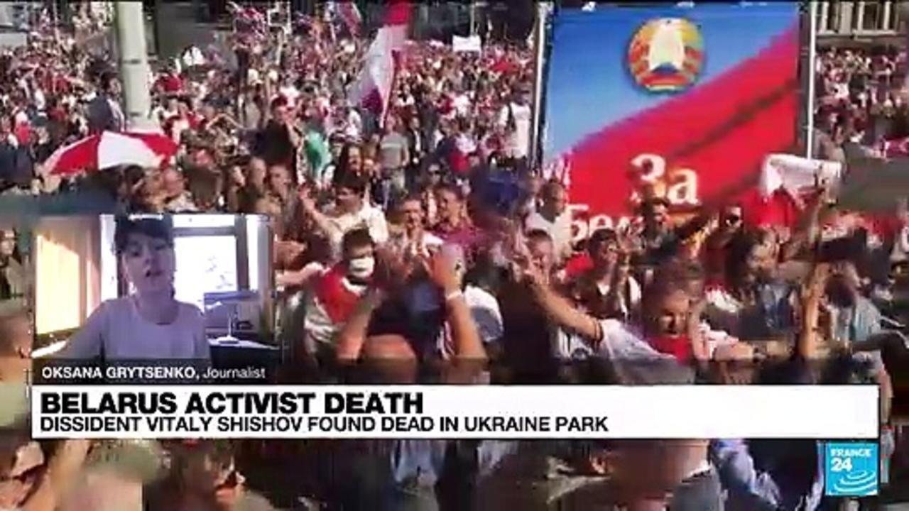 Belarus dissident Vitaly Shishov found dead in Ukraine, police open murder case