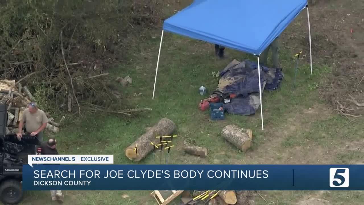 Private investigator continues to search for Joe Clyde Daniels' body