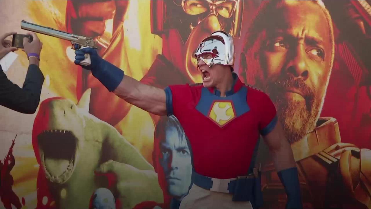 John Cena praises 'smart' director James Gunn at The Suicide Squad premiere