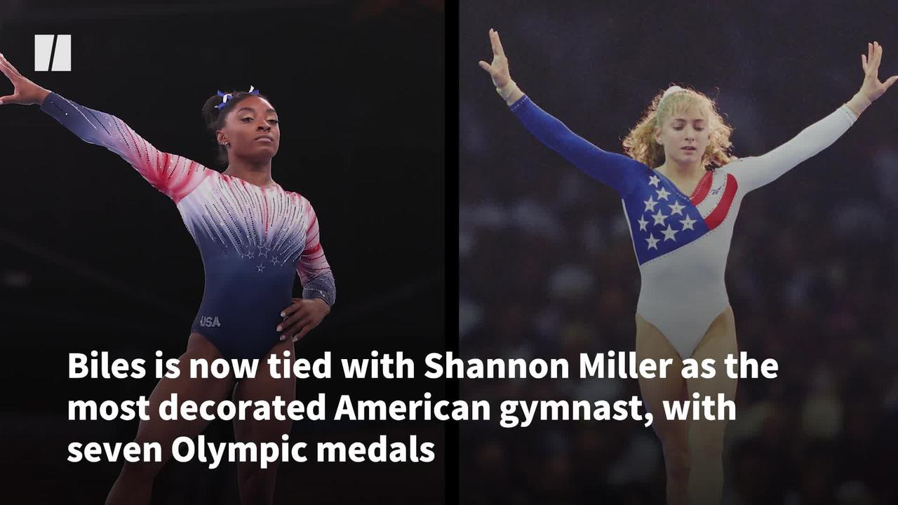 Simone Biles Returns To Take Bronze