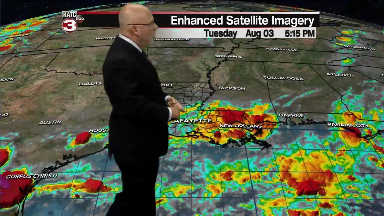 ROB'S WEATHER FORECAST PART 2 5PM 8-3-2021