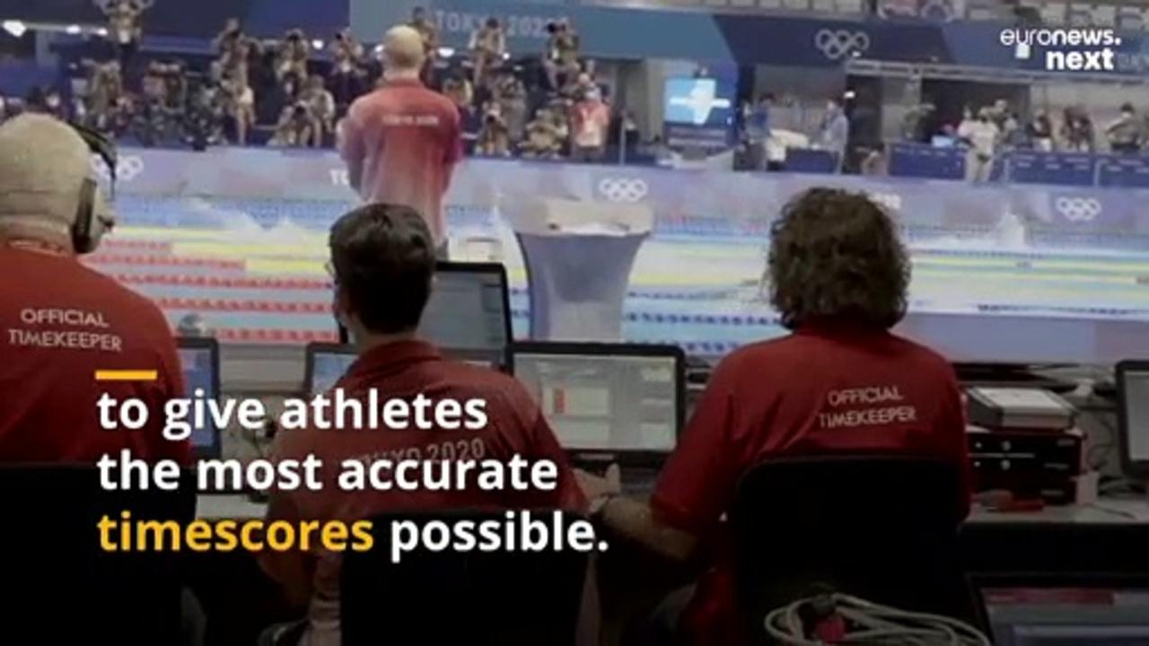 Tokyo 2020: How do the Olympic timekeepers keep track of over 300 different events?