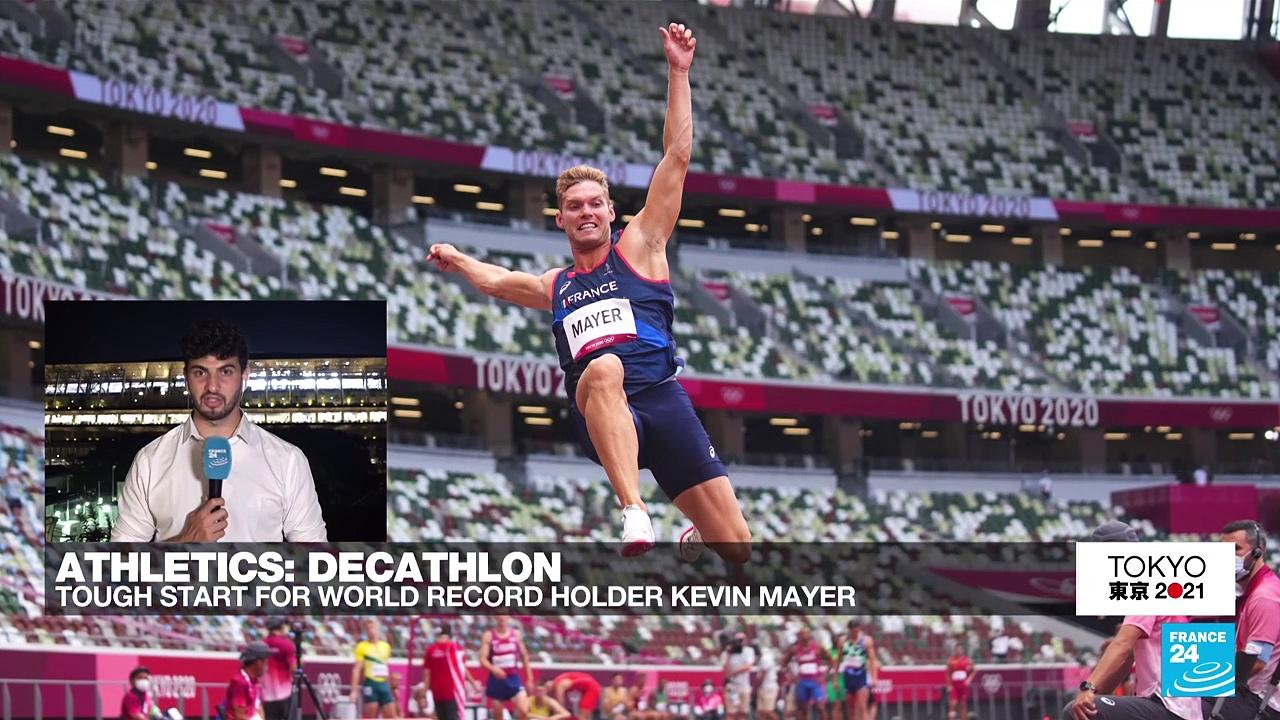 Olympic Games: Tough start for world record holder Kevin Mayer