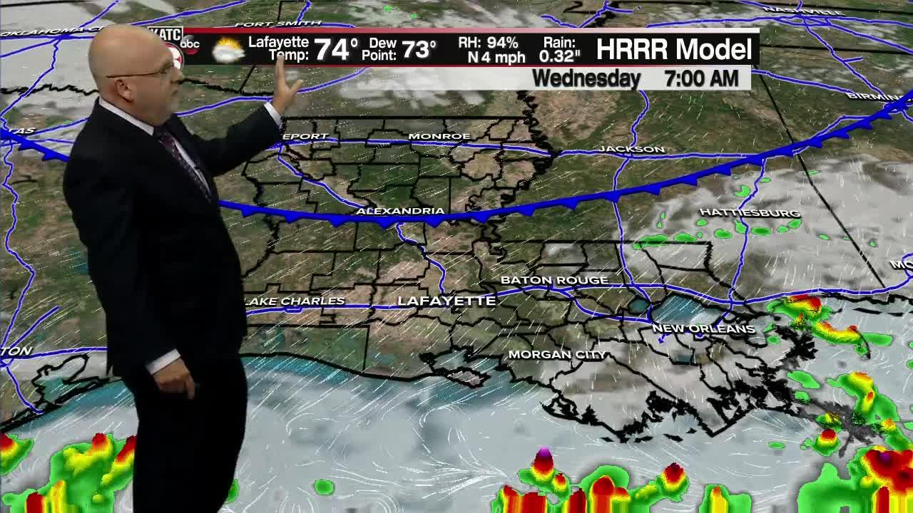 ROB'S WEATHER FORECAST PART 2 10PM 8-3-2021