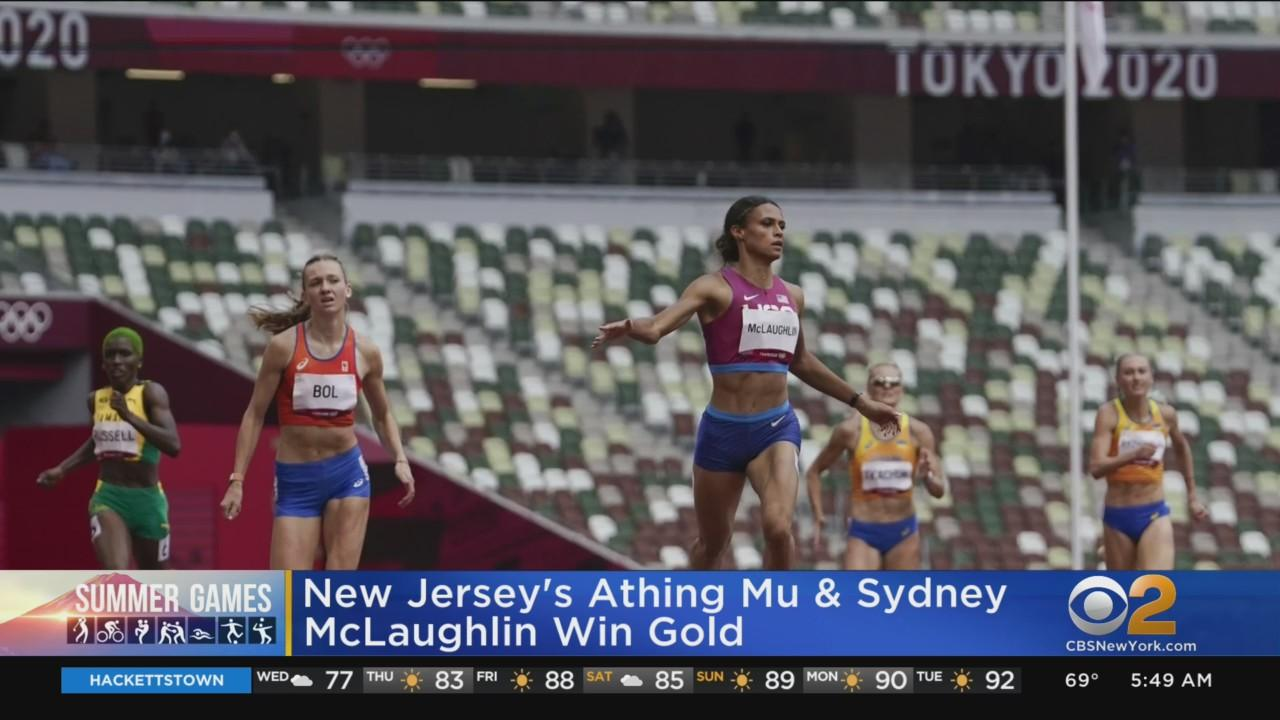 New Jersey Natives Set Olympic Records