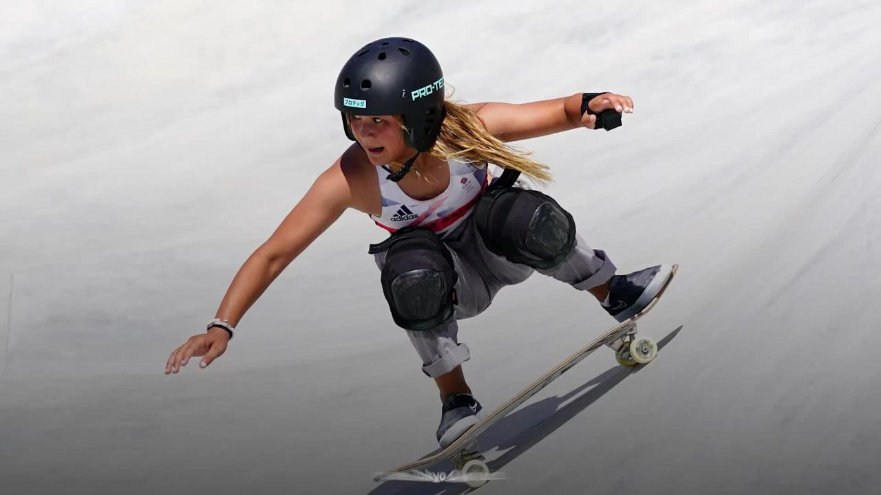 Skateboarders hope Sky Brown's bronze 'a catalyst' for the sport