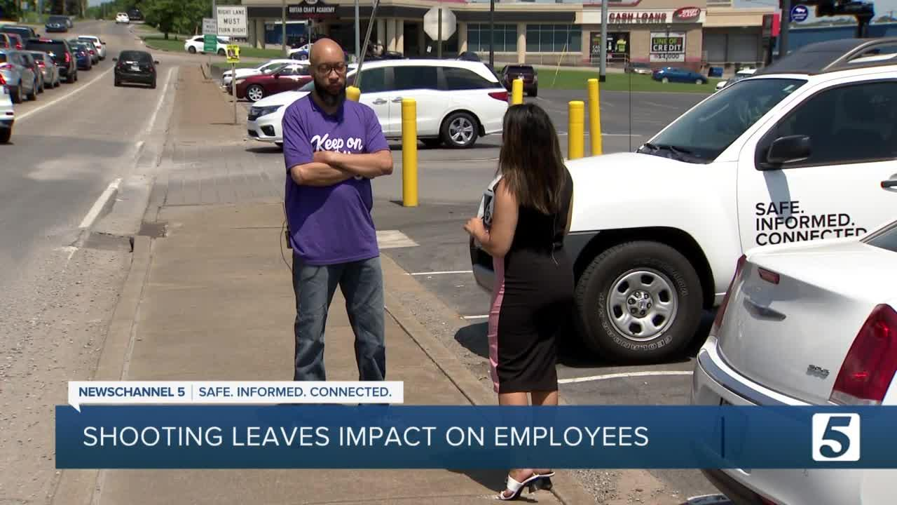 Employee says he's thankful to be alive after shootout at Smile Direct Club in Antioch