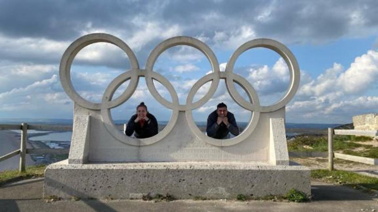 This couple is taking on all Olympic sports in 17 days