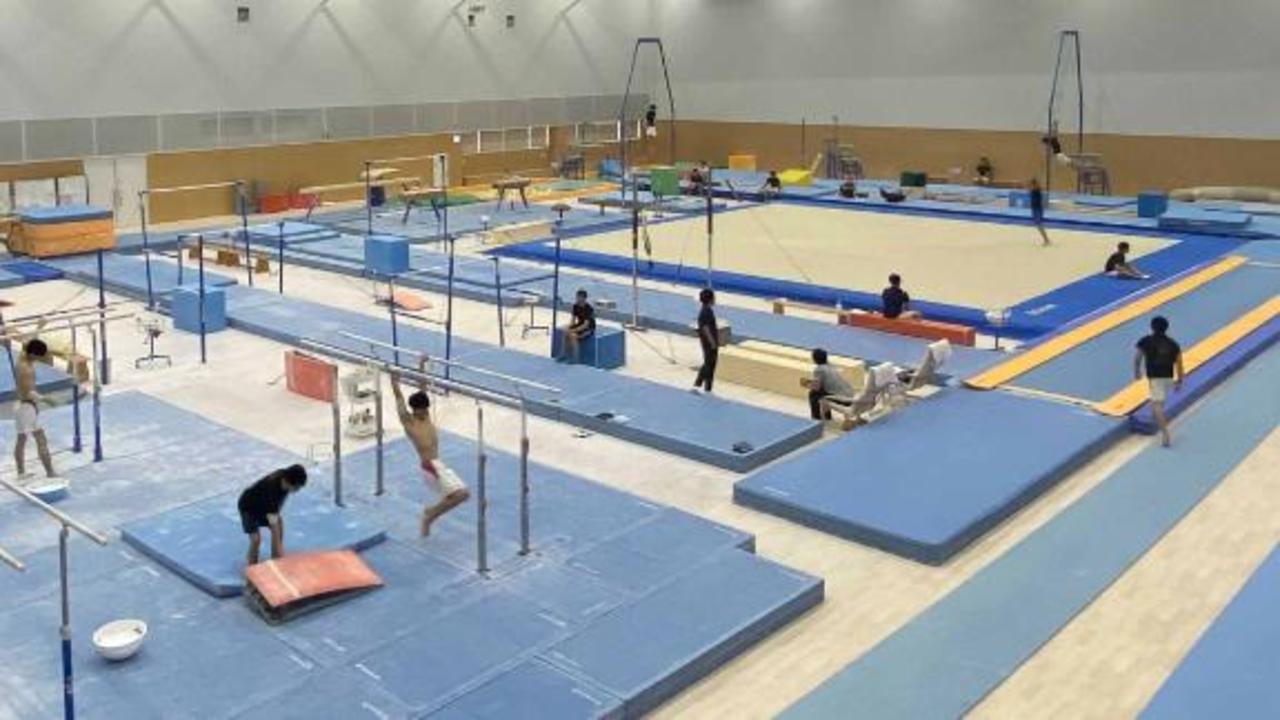 CNN gets exclusive look inside Simone Biles' 'secret gym' in Tokyo