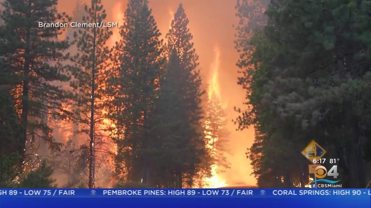 California Wildfire Destroys A Small Town