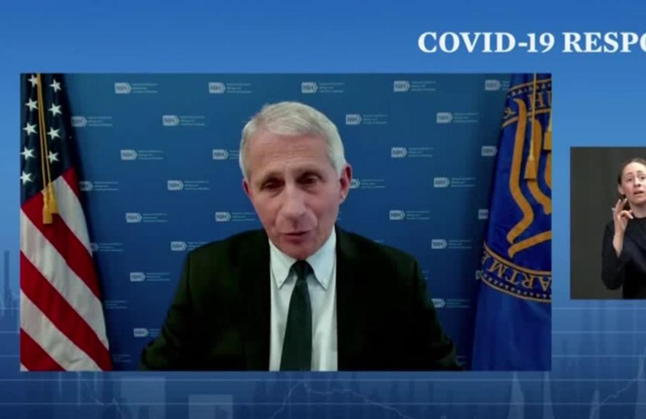 U.S. plans boosters for at-risk Americans: Fauci