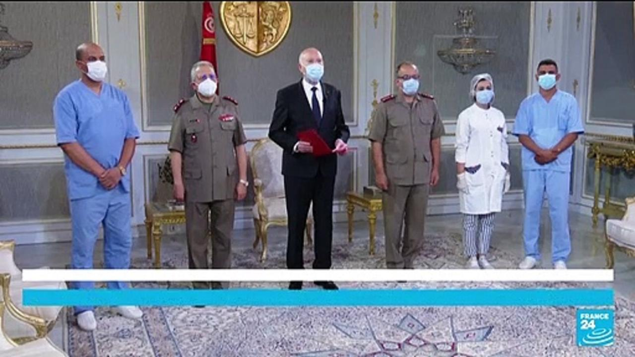 President calls on Tunisian to get vaccinated: 'do not hesitate, not even for a second'
