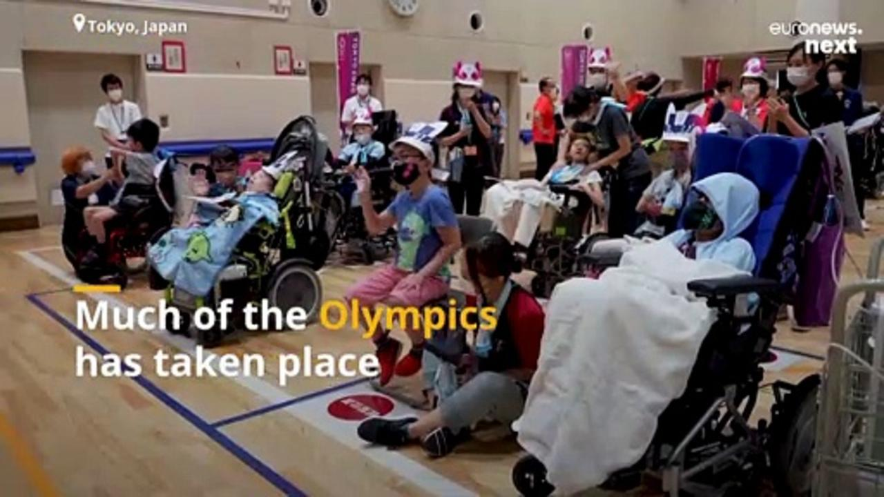 VR brings children with disabilities to the heart of Olympic Games action