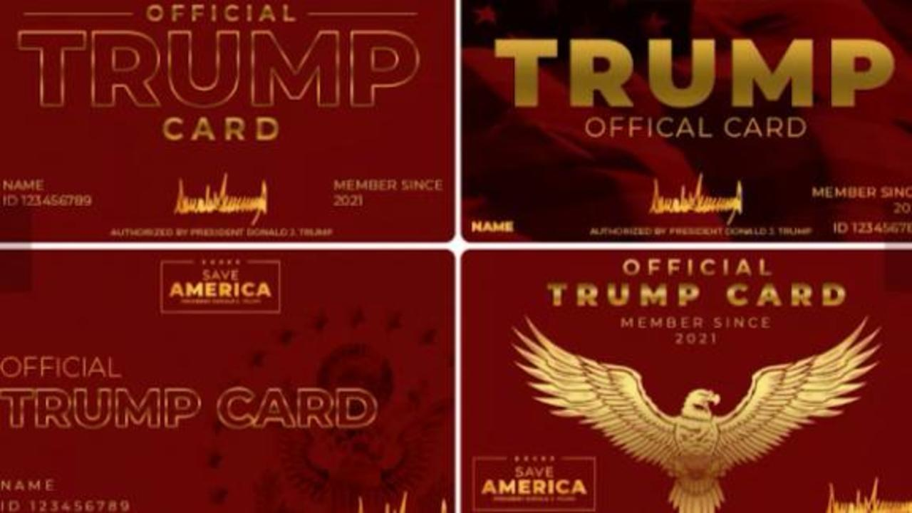 Trump PAC offers actual 'Trump cards' for his supporters