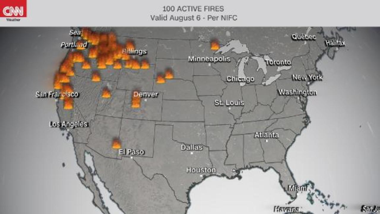 Dixie fire continue to devastate a drought-stricken California