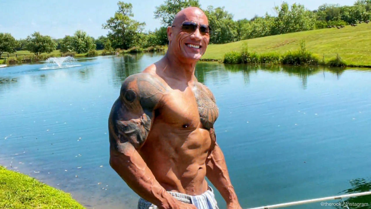Dwayne 'The Rock' Johnson explains why he doesn't have 'perfect' abs