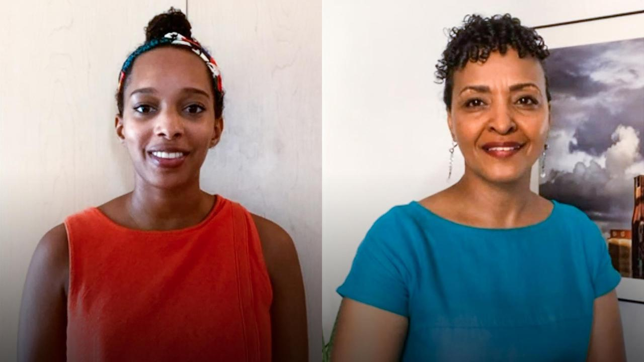 Community-powered solutions to the climate crisis | Rahwa Ghirmatzion and Zelalem Adefris