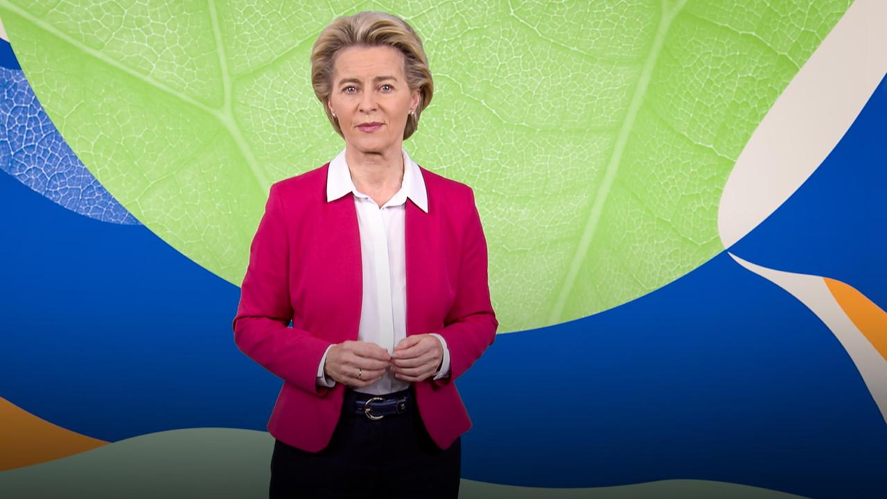 Europe's plan to become the first carbon-neutral continent | Ursula von der Leyen