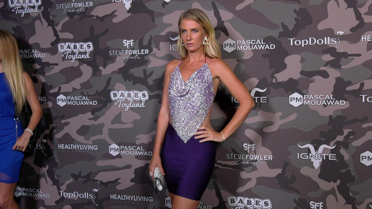 """Anya Shevchenko 2021 """"Babes in Toyland - Support Our Troops"""" Charity Event Red Carpet"""