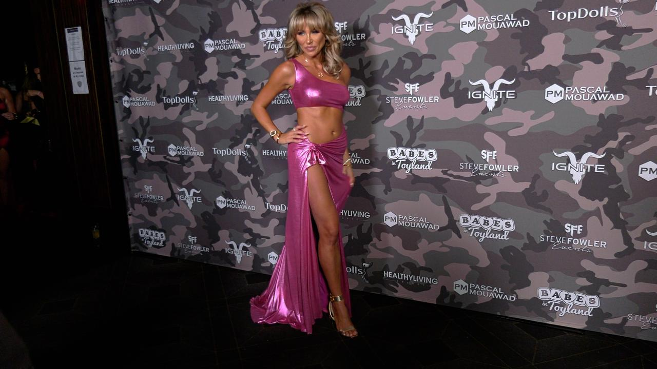 """Khloe Terae 2021 """"Babes in Toyland - Support Our Troops"""" Charity Event Red Carpet"""