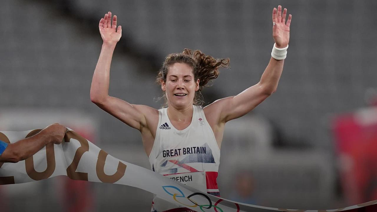 Kate French delighted with pentathlon gold medal