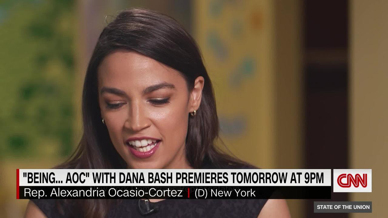 Bash asks Alexandria Ocasio-Cortez if she will challenge Schumer