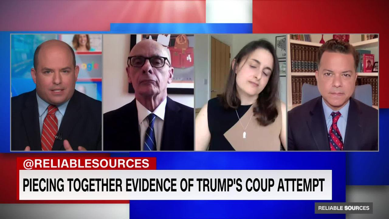 Press is piecing together evidence of Trump's coup attempt