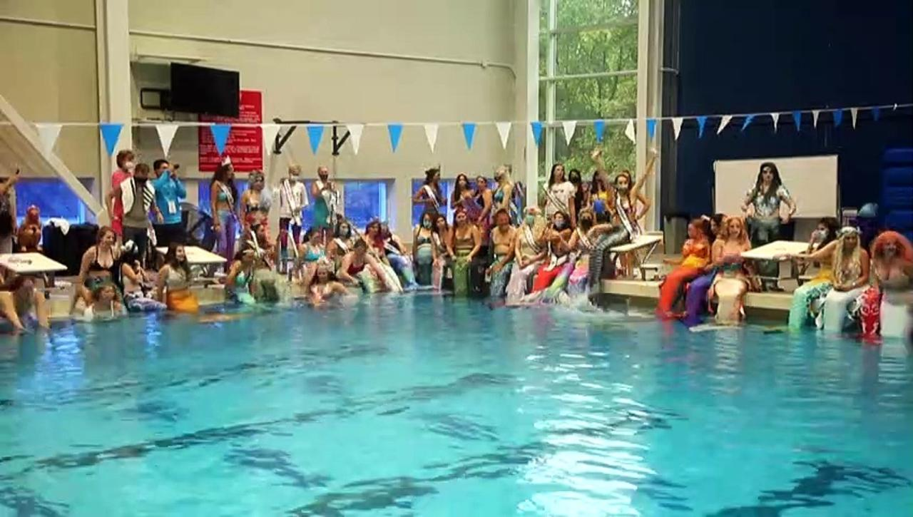 Shimmering tails and swimming feats: welcome to the world's biggest mermaid convention