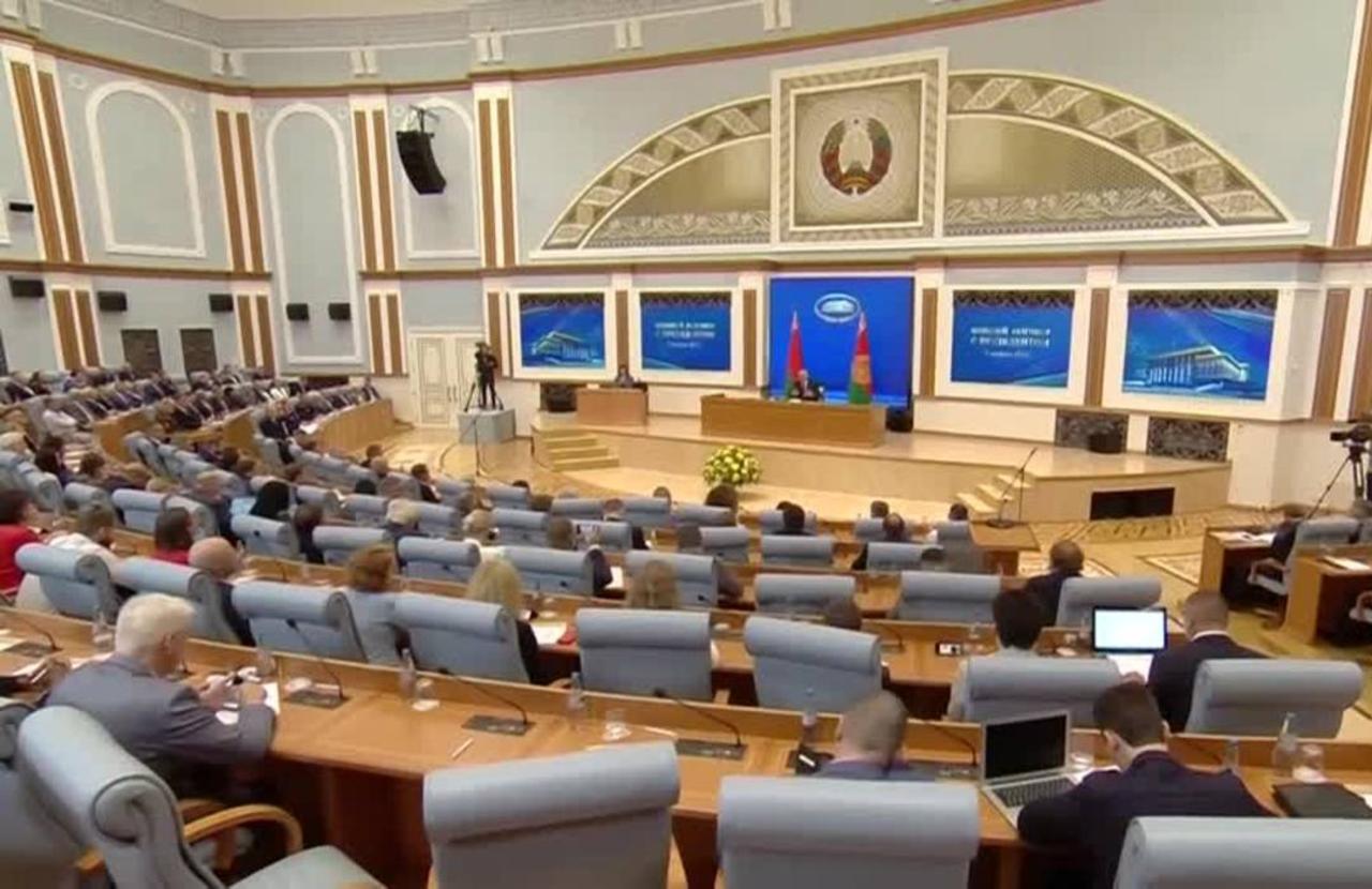 Defiant Belarus leader shrugs off sanctions