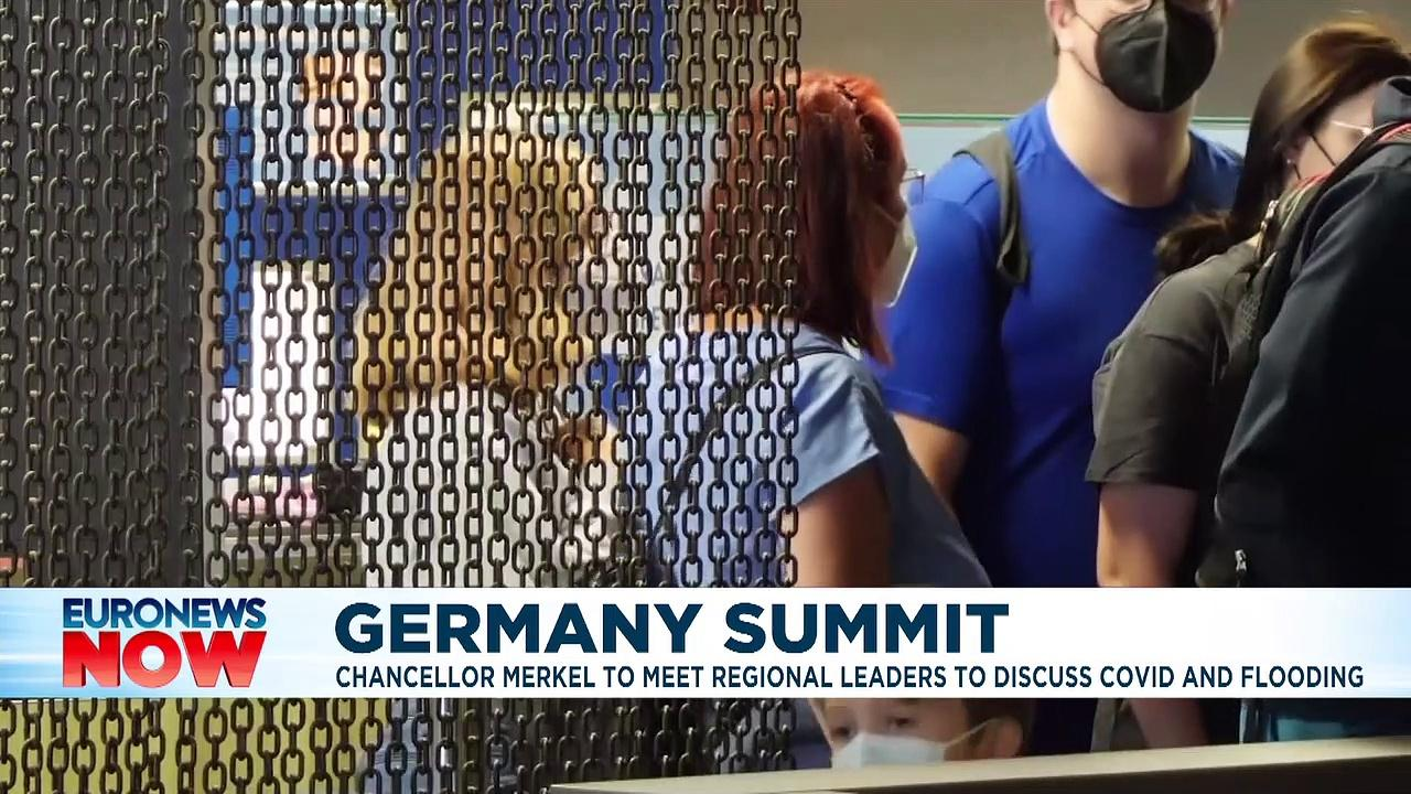 German officials to discuss COVID-19 testing and flooding aid at summit