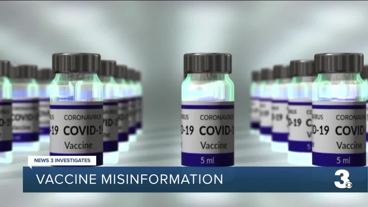 Vaccine misinformation