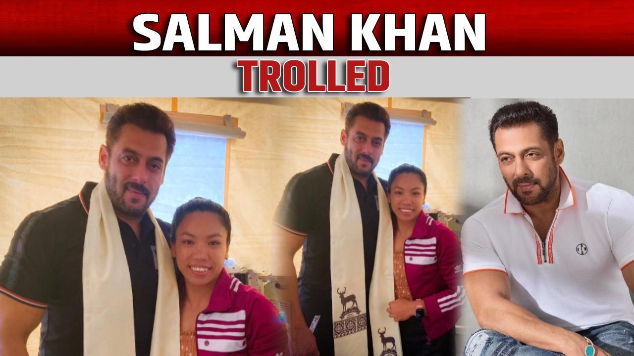 Salman Khan trolled
