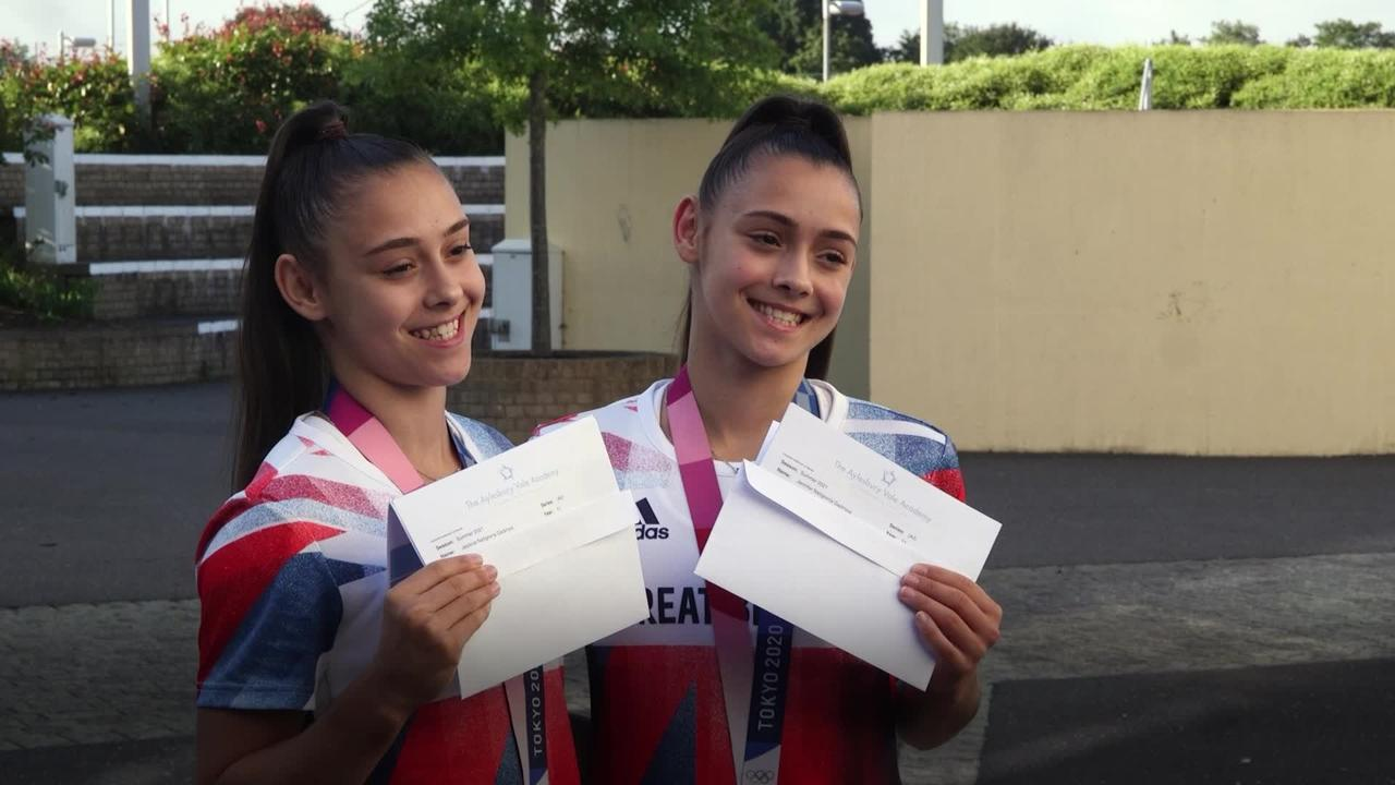 Gadirova twins leap for joy as they collect results after Olympic bronze