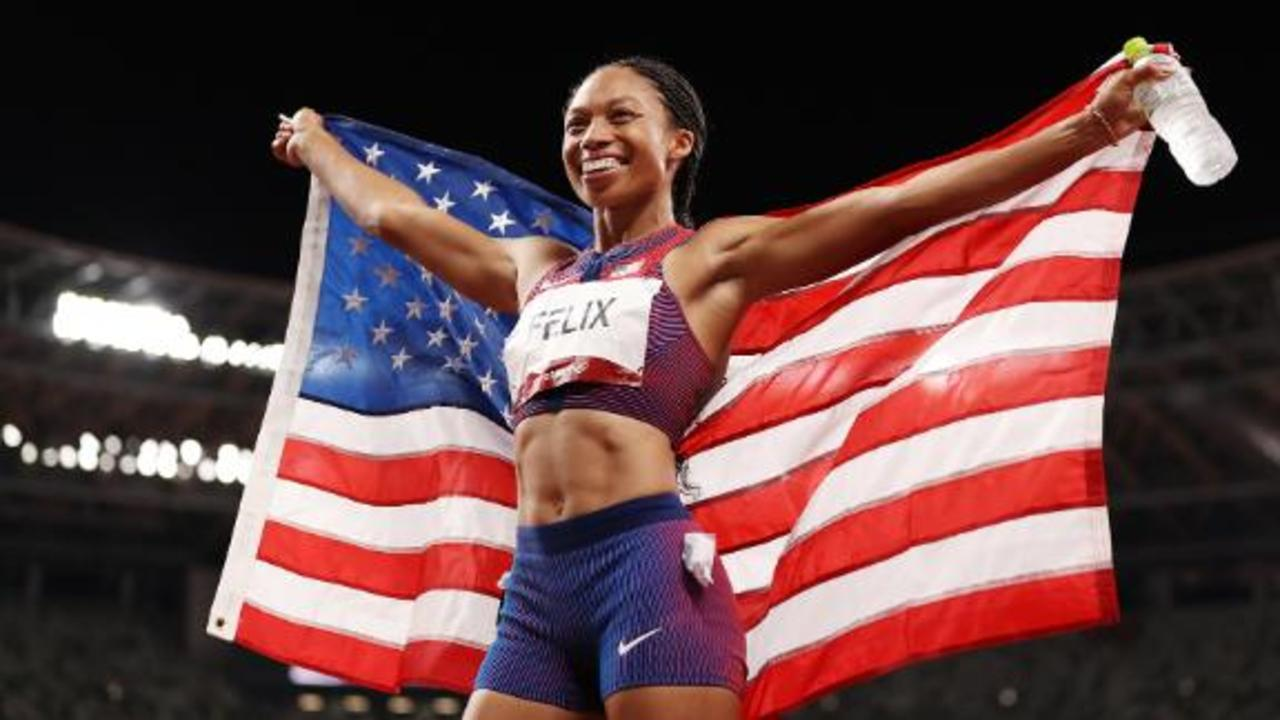 Olympian shares hopes for her daughter