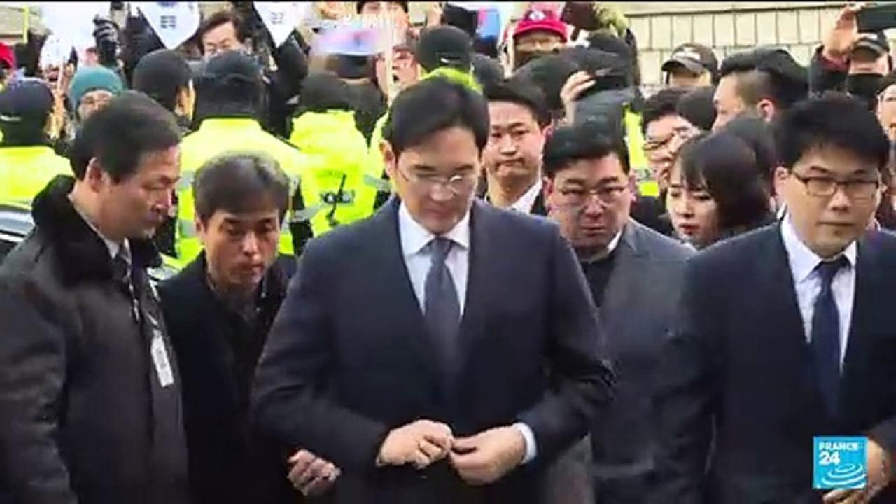 South Korea: Samsung leader released from prison on parole