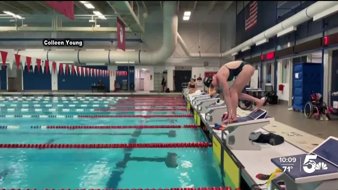 Paralympian swimmers leave Colorado Springs and head to Tokyo